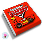 Personalised Racing CAR 2nd 3rd 4th 5th 6th 7th Birthday Party Favour Chocolates