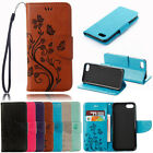 For iPhone Samsung Model Fashion Pattern Flip PU Leather Wallet Case Cover Skin