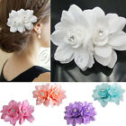 Fashion Hair Flower Clip Bridal Girl Women For Wedding Prom Party Photo Decor