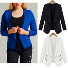 New Women's Fashion Solid Slim Casual Business Blazer Suit Jacket Coat Outwear