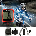 Wireless LCD Digital Cycle Bike Computer Bicycle Speedometer Odometer Waterproof