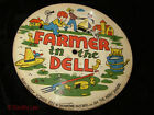 Picture Disc Children's Record The Farmer In The Dell In & Out The Window Vintag