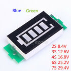 2/3/4/6/7S Lithium Battery Pack Electricity Quantity Display Board Display