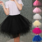 Fashion Women's Tutu Underskirt Petticoat Skirts Crinoline Bridal Dress Slips