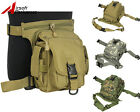 Tactical Utility Waist Belt Drop Leg Pouch Bag Military Airsoft Outdoor Hunting