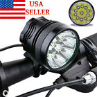 28000LM 11 x CREE XM-L T6 LED 6 x 18650 Bicycle Cycling Light Waterproof Lamp US