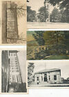 #312  1910c-- lot of 5 DIFF POSTCARDS CT CONN GRANBY WALLINGFORD DERBY ETC