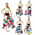 Pants PBC21-25 Cotton Unique Patchwork Boho Hippie Gypsy Harem Wide Leg Women