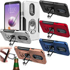 For LG Tribute HD Premium Slide Out Pocket Wallet Case Pouch Cover +Screen Guard