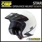 SC607E OMP STAR HELMET OPEN FACE KARTING / TRACK DAY / RALLY / SIZES S-XXL