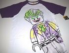 New Lego Batman Joker shirt men's sizes S M L XL XXL Lego The Joker Batman shirt