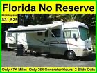 NO RESERVE 2003 FOREST RIVER GEORGETOWN 35FT 2 SLIDE OUTS RV MOTORHOME CAMPER