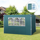 3m Gazebo Replacement Exchangeable Side Panel Wall Panels Panel Walls W/ Window