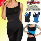 UK Women Waist Training Cincher Underbust Corset Body Shaper Neoprene Two Sides