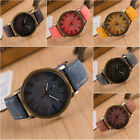 New Men Women Fashion Leather Analog Bracelets Quartz Cowboy Wrist Watch Jewelry