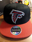 Atlanta Falcons NFL Premium 210 Fitted Flex Flat Bill Brim Hat Cap Team Reebok $18.99 USD on eBay