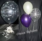 Wedding Anniversary Balloon Decorations - 10 Table Displays - Many Colours