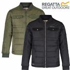 Regatta Mens Larrie Quilted Padded Outdoor Jacket BNWT *FREE POST*