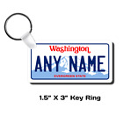 Personalized Washington License Plate for Bicycles,  Kid's Bikes