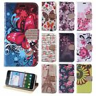 For Alcatel TRU Leather Premium Wallet Case Pouch Flip Phone Cover Accessory
