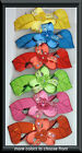 LARGE ACRYLIC BARRETTE CRYSTALS SELECT COLOR SHIPS FAST FROM USA