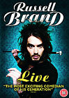 Russell Brand Live [DVD] BRAND NEW & SEALED FREE POSTAGE