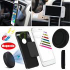 Magnetic Stick on Car Dashboard Mount Extra Slim Flat Pad Holder Stand for Phone