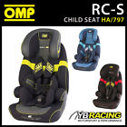NEW! HA/797 OMP RACING RC-S CHILD BABY CAR SEAT WITH ISOFIX NEW UPDATED DESIGN!