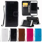 Magnetic Wallet Flip PU Leather Card Holder Case Cover for Apple iPhone 7 7 Plus