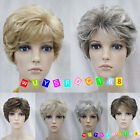(6 colors) Short Curly Women Female Lady Hair Wig + Free wig cap