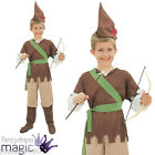 Boys Kids Medieval Robin Hood Peter Pan Hunter Book Day Week Fancy Dress Costume
