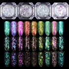 BORN PRETTY Chameleon Nail Sequins Glitter Paillette Transparent Manicure Decor