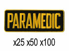 BULK LOT 25 50 100 EMT EMS GOLD BLACK PARAMEDIC UNIFORM J...