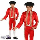Boys Kids Bullfighter Toreador Matador Spain Spanish Fancy Dress Costume Outfit