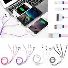4 in 1 Multi USB Sync Charger Charging Cable Cord For iPhone 5 6 Samsung