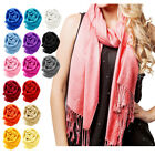 Kyпить NEW Women Soft PASHMINA SILK Classic Solid Cashmere Wool SHAWL Scarf Stole WRAP на еВаy.соm