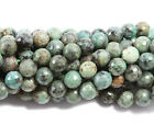 African Turquoise Jasper Faceted Gemstone Beads~Guaranteed