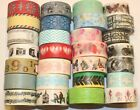 Wider Washi Tape 20mm x 5m Rolls Decorative Sticky Paper Masking Tape Adhesive