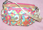 Camilla Lily Bloom Women's Cross Body or Triple Section Satchel Handbag NEW