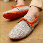 New Men's Fashion Flats England Breathable Recreational Casual Shoes Size