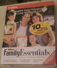 Family Essentials-Canon, Home Management,400 Projects for WORD,Excel,New in Box