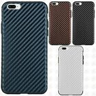 Apple iPhone 7 & 7 PLUS Light Thin Carbon Fiber TPU Skin Cover + Screen Guard