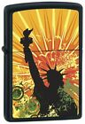 Personalised Lady Liberty Zippo Lighter Engraved Gift