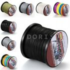 Dorisea Braided Fishing Line 100M~1500M  6-300LB 100%PE Dyneema Black White Gray