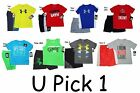 Under Armour Shorts Set T Shirt Sports Boys 2 Piece Kids Outfit Tee Top Bottom