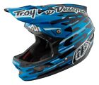 Troy Lee Designs 2017 D3 Carbon MIPS Helmet Code Blue Adult All Sizes