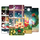 HEAD CASE DESIGNS HOLIDAY CANDLES HARD BACK CASE FOR SONY PHONES 3
