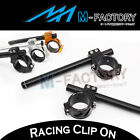 Fit Yamaha YZF R6 06-10 11 12 13 14 Racing  CNC Billet Clip On Handle bars