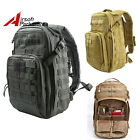 Molle Tactical Military Army Backpack Outdoor Camping Hiking Bag Black/Tan 40L
