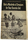 Vintage Womans Day February 1966 Knit a Wardrobe of Sweaters Barbie Ken Skipper